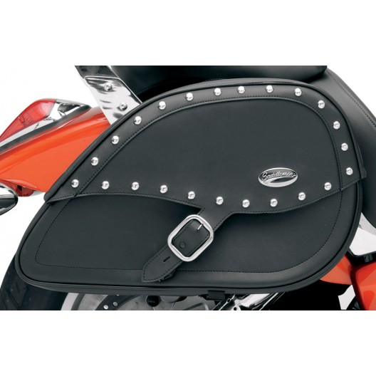 Rigid-Mount Specific-Fit Teardrop Saddlebags, Desperado