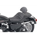 2004-2020 XL Sportster Explorer™ Ultimate Comfort Seat with Driver's Backrest (4.5G Tank)