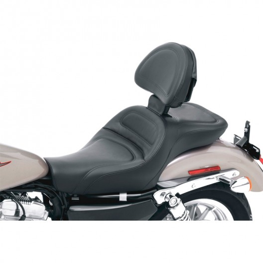 2004-2020 XL Sportster Explorer™ Ultimate Comfort Seat with Driver's Backrest (Forty-Eight and 3.3G Tank)