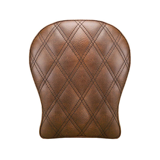 "Renegade™ LS (Brown) Detachable 9"" Contoured Pillion Pad"