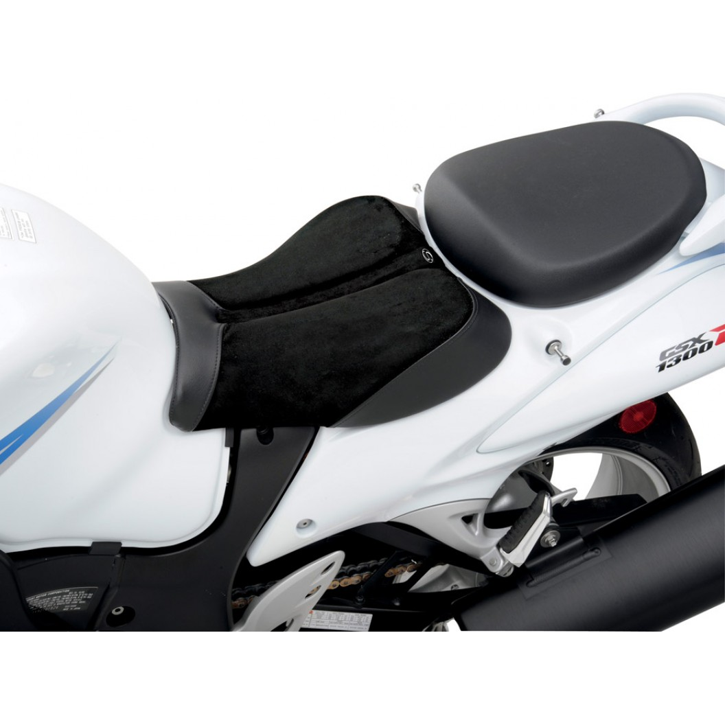 2008-2017 GSX1300R Hayabusa Sport Solo Seat (with Matching Pillion Cover)