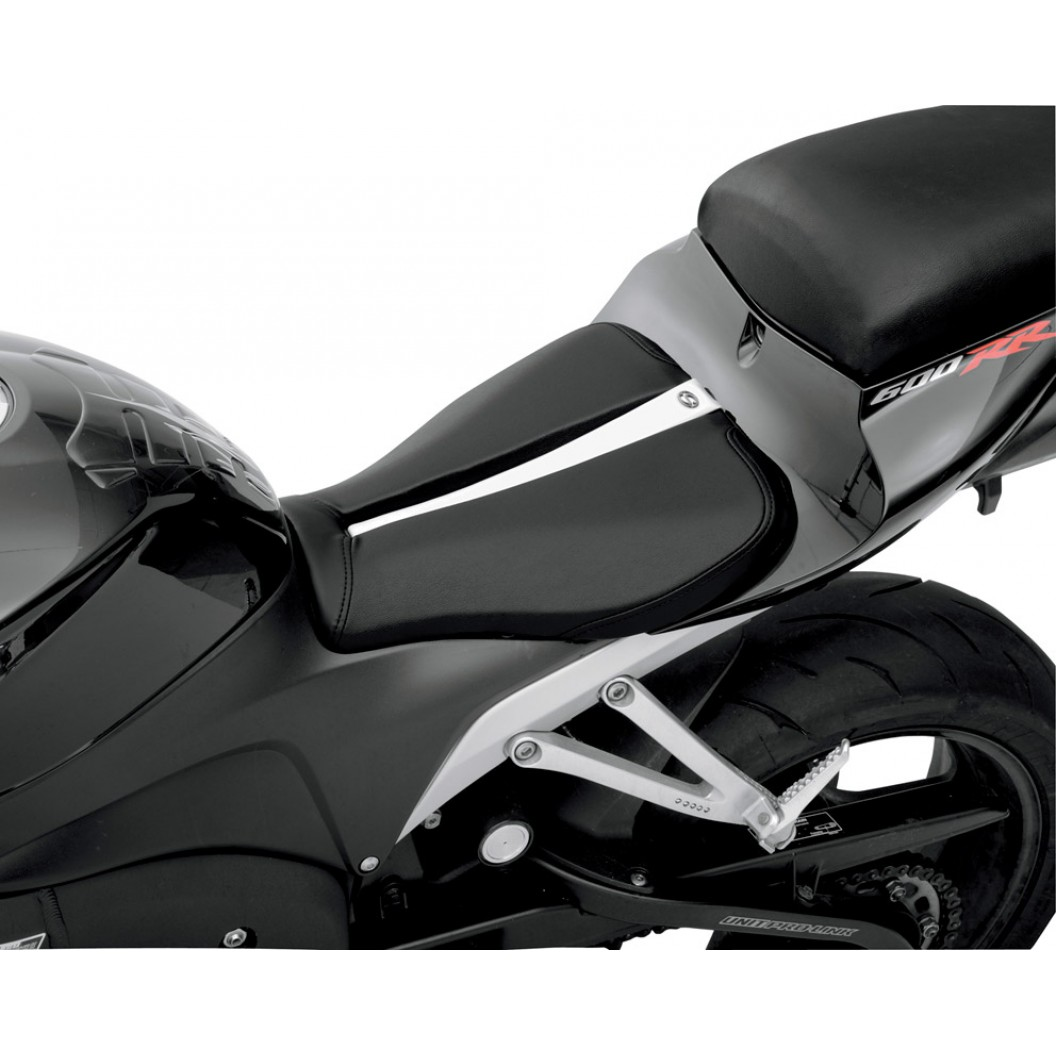 2007-2017 CBR600RR Track Solo Seat (with Matching Pillion Cover)