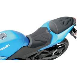 2008-2012 EX250R Ninja Tech Solo Seat Low (with Matching Pillion Cover)