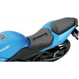 2008-2012 EX250R Ninja Track CF Solo Seat Low (with Matching Pillion Cover)
