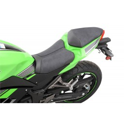 2013-2017 Ninja 300 Sport Solo Low Seat (with Matching Pillion Cover)