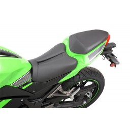 2013-2017 NINJA 300 Track CF Solo Seat (with matching pillion cover)