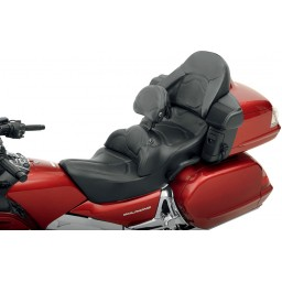 2001-2010 GL1800 Goldwing Roadsofa™ Heated Seat with Driver's Backrest and Heated Passenger Trunk Pad