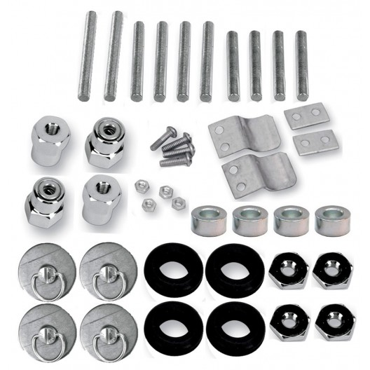 S4 Quick Disconnect Docking Post and Fastener Kit (3501-0336)(Kawasaki)