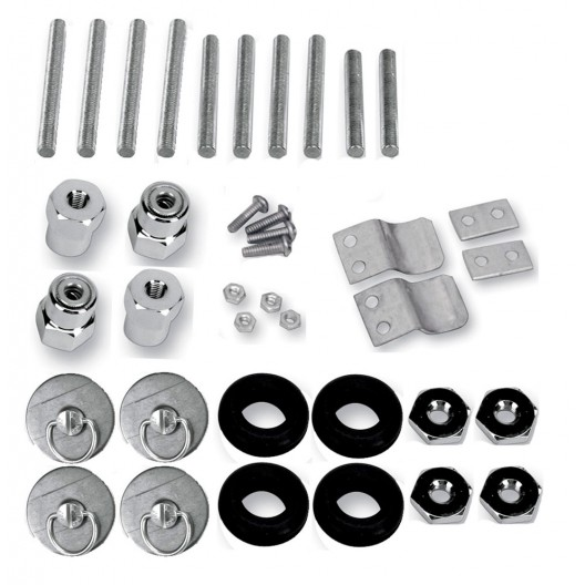S4 Quick Disconnect Docking Post and Fastener Kit (3501-0337)(Suzuki)