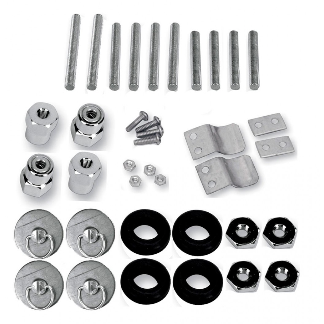 S4 Quick Disconnect Docking Post and Fastener Kit (3501-0338)(Yamaha)