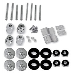 S4 Quick Disconnect Docking Post and Fastener Kit (3501-0340)(H-D Dyna)