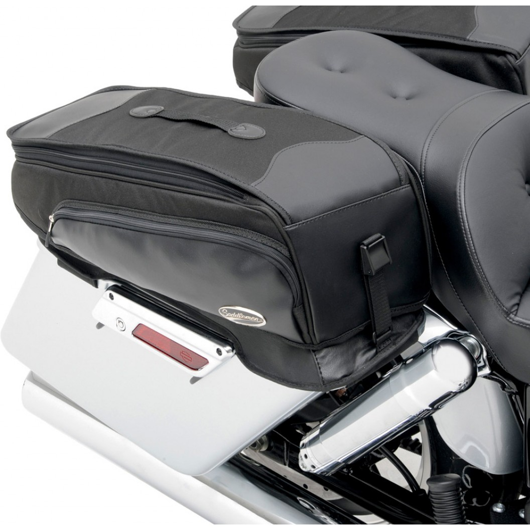 Saddlebag Chap Cover With Storage Bags