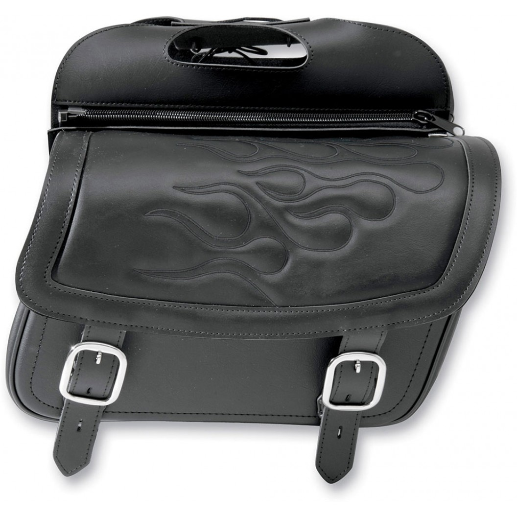 Highwayman Tattoo Slant Saddlebags, Medium