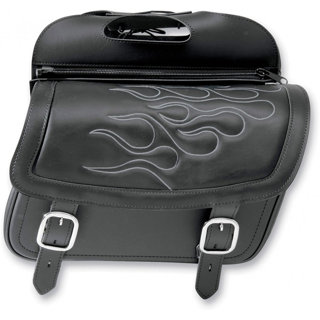 Highwayman Tattoo Slant Saddlebags, Jumbo