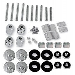 S4 Quick Disconnect Docking Post and Fastener Kit (3521-0001)(Honda / Triumph / Victory)