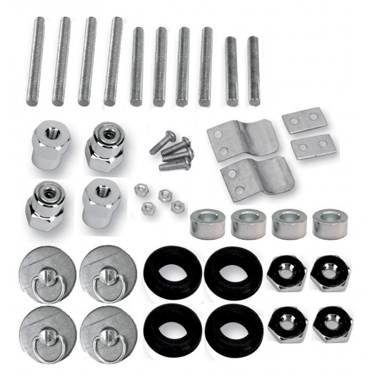 S4 Quick Disconnect Docking Post and Fastener Kit (3521-0002)(Honda / Suzuki)