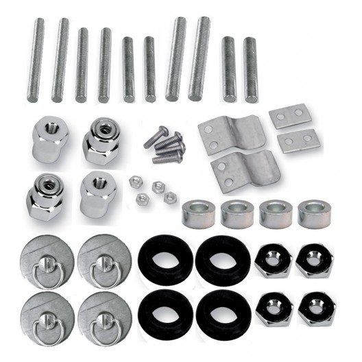 S4 Quick Disconnect Docking Post and Fastener Kit (3521-0003)(Honda)