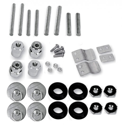 S4 Quick Disconnect Docking Post and Fastener Kit (3521-0005)(Yamaha)