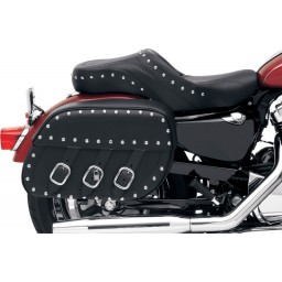 Rigid-Mount Universal Slant Saddlebags, Desperado