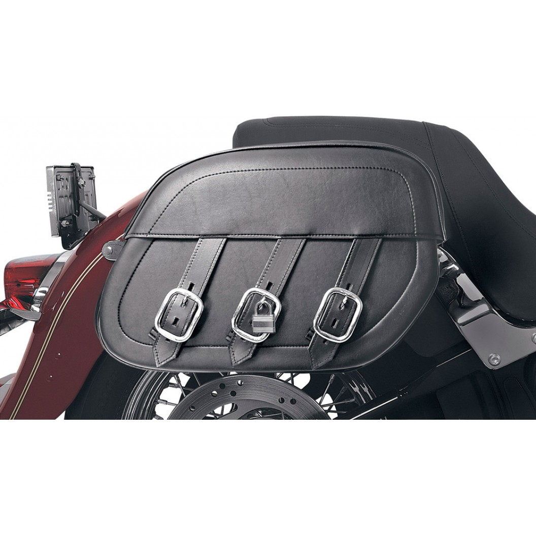 Rigid-Mount Universal Slant Saddlebags, Drifter
