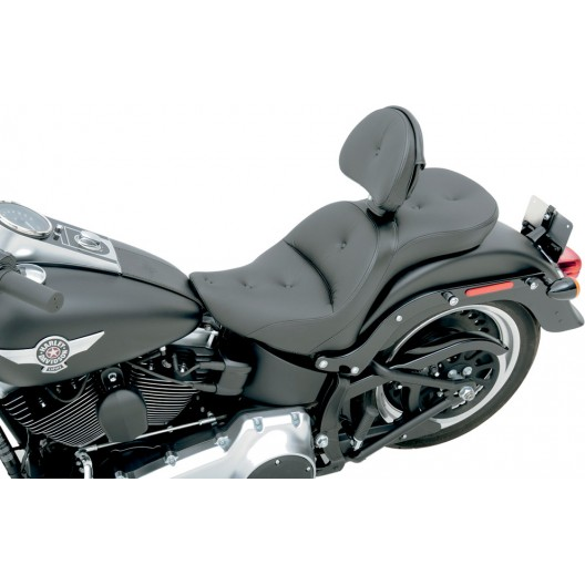 2006-09 FXST/B/S Standard, 2007-17 FLSTF/B/S Fatboy Explorer™ RS Seat with Driver's Backrest