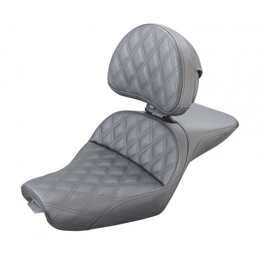 2004-2020 XL Sportster Explorer™ LS Seat with Driver's Backrest (4.5G Tank)
