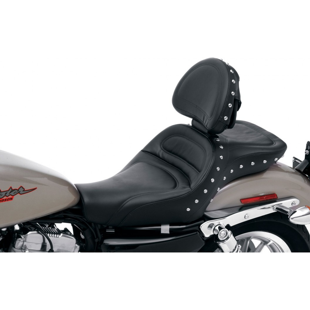 2004-2020 XL Sportster Explorer™ Special Seat with Driver's Backrest (Forty-Eight and 3.3G Tank)