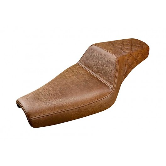 2004-2020 Sportster Brown Step-Up™ Rear LS Seat (4.5G Tank)