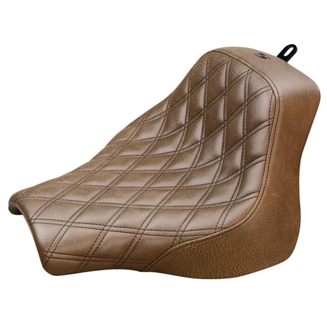 2018-2020 Fat Bob FXFB/FXFBS Brown Renegade™ LS Solo Seat