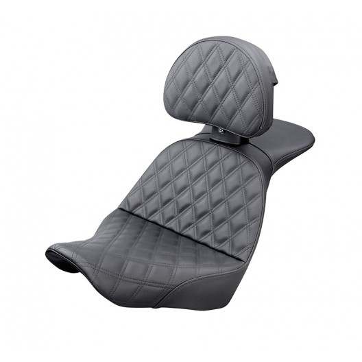 2018-2020 Low Rider FXLR/FXLRS, Sport Glide FLSB Explorer™ LS Seat with Driver's Backrest