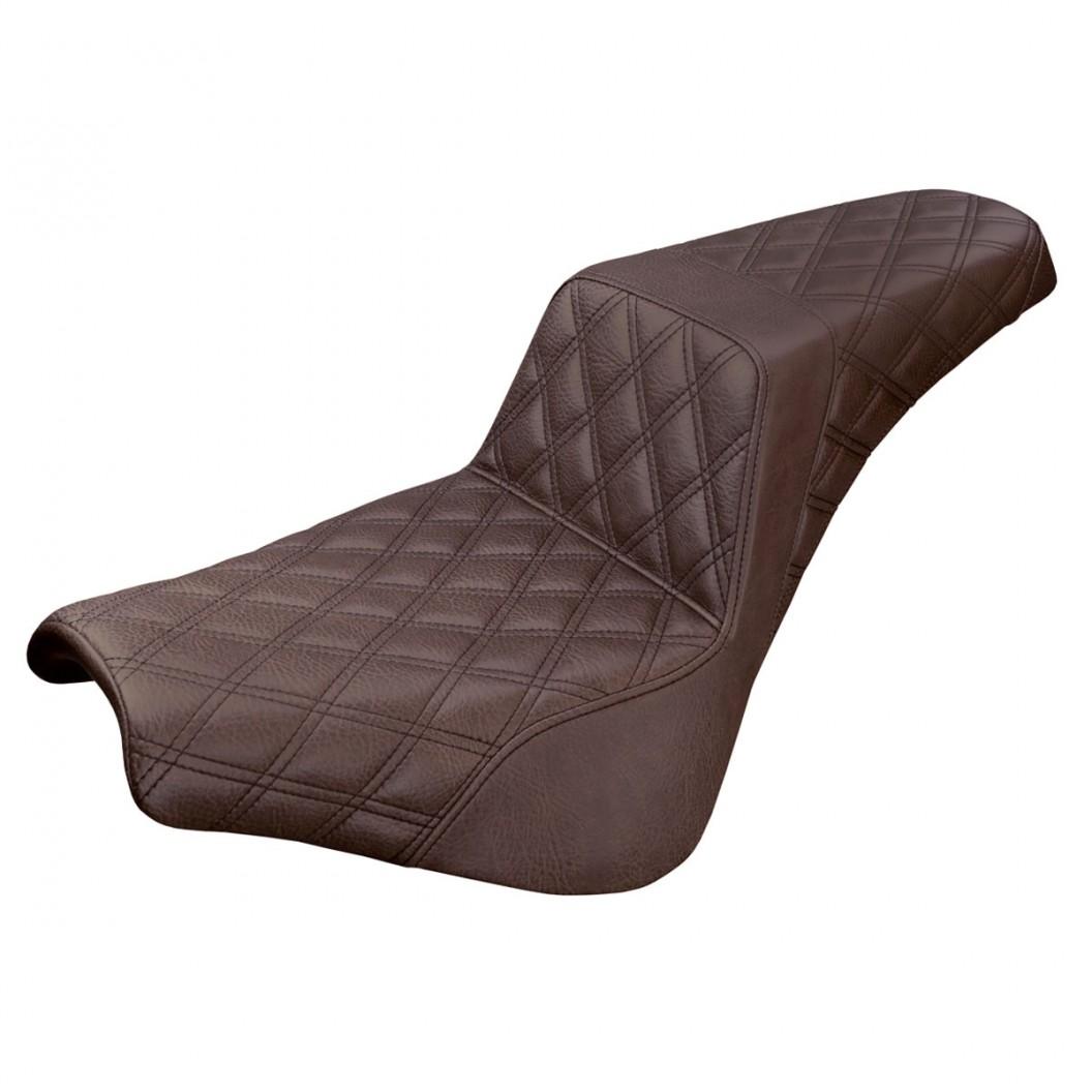 2018-2020 Softail Street Bob FXBB, Standard FXST Brown Step-Up™ Front & Rear LS Seat