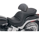 2000-2007 FXSTD Softail Deuce Explorer™ Ultimate Comfort Seat with Driver's Backrest