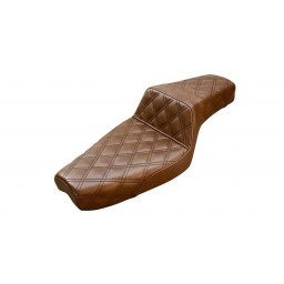 1979-2003 XL Sportster Brown Step-Up™ Front & Rear LS Seat