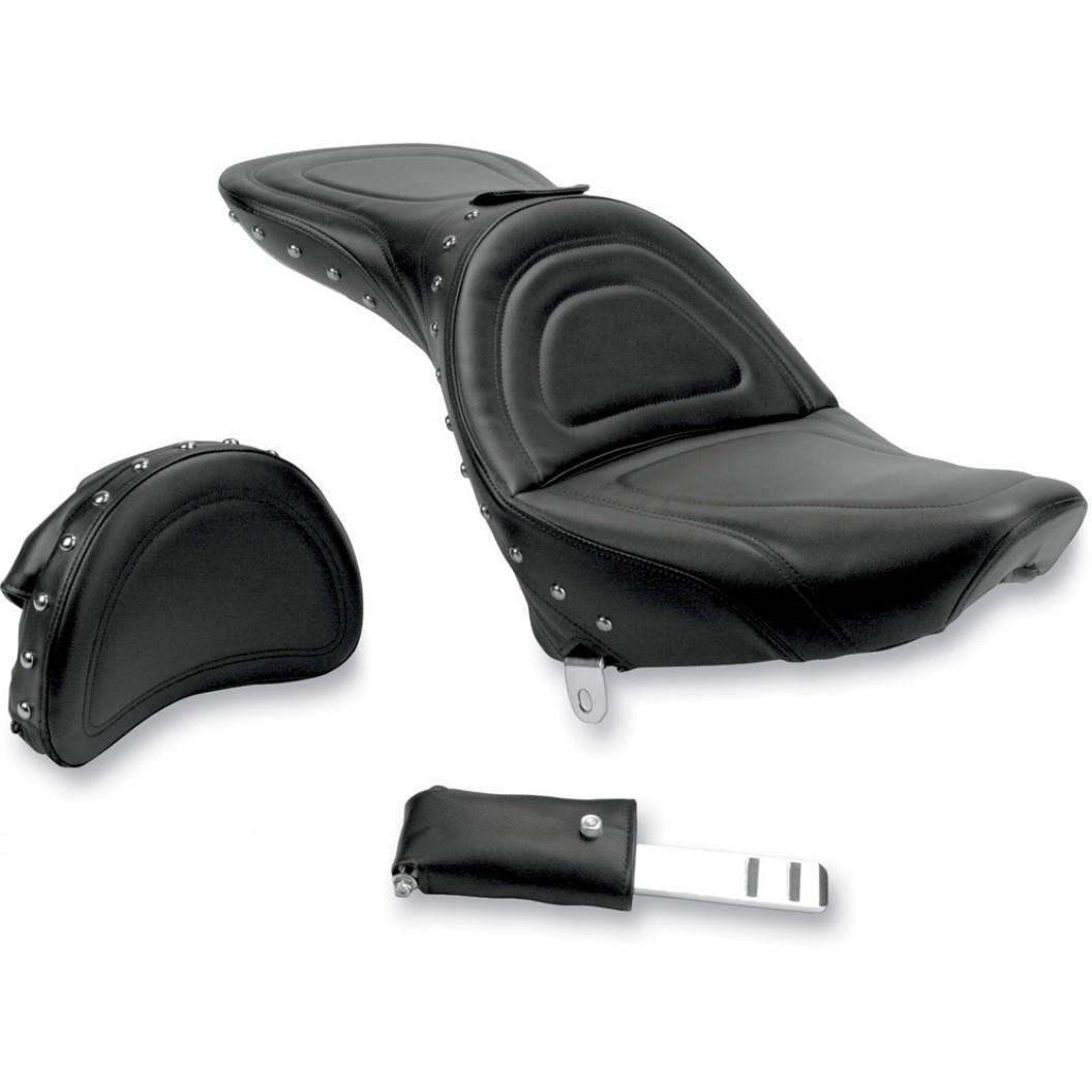 1984-1999 FXST/FLST Softail Explorer™ Special Seat with Driver's Backrest