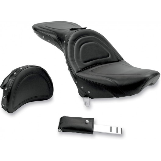 1984-1999 FXST/FLST Softail Explorer™ Special Seat with Driver's Backrest