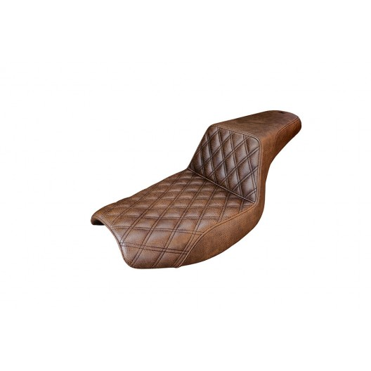 1982-2000 FXR Brown Step-Up™ Front LS Seat