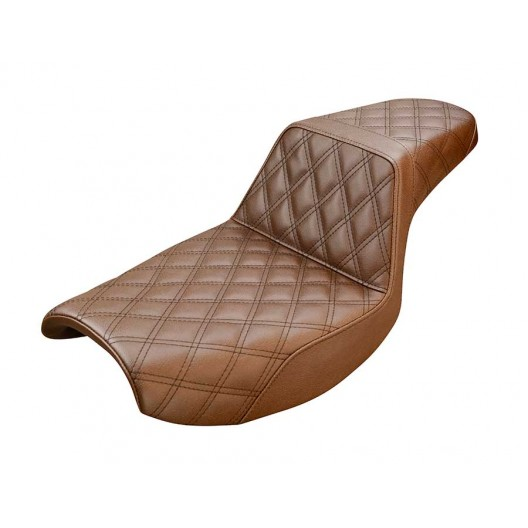 1982-2000 FXR Brown Step-Up™ Front & Rear LS Seat