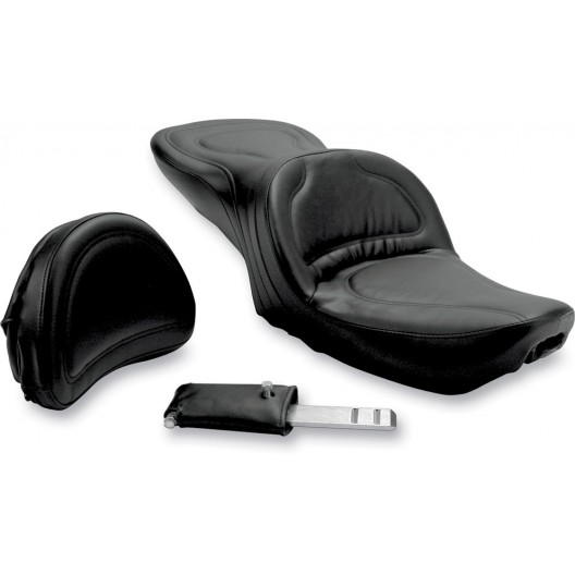 1991-1995 FXD Dyna Explorer™ Ultimate Comfort Seat with Driver's Backrest