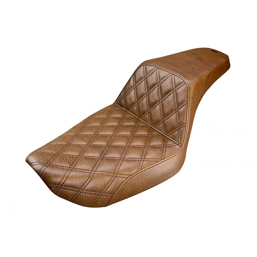 1996-2003 FXD Dyna Brown Step-Up™ Front LS Seat