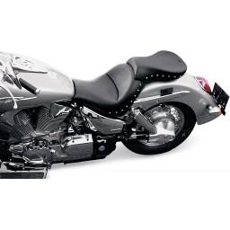 2003-2009 VTX1300 R/S Renegade Tour Pillion with Chrome Studs