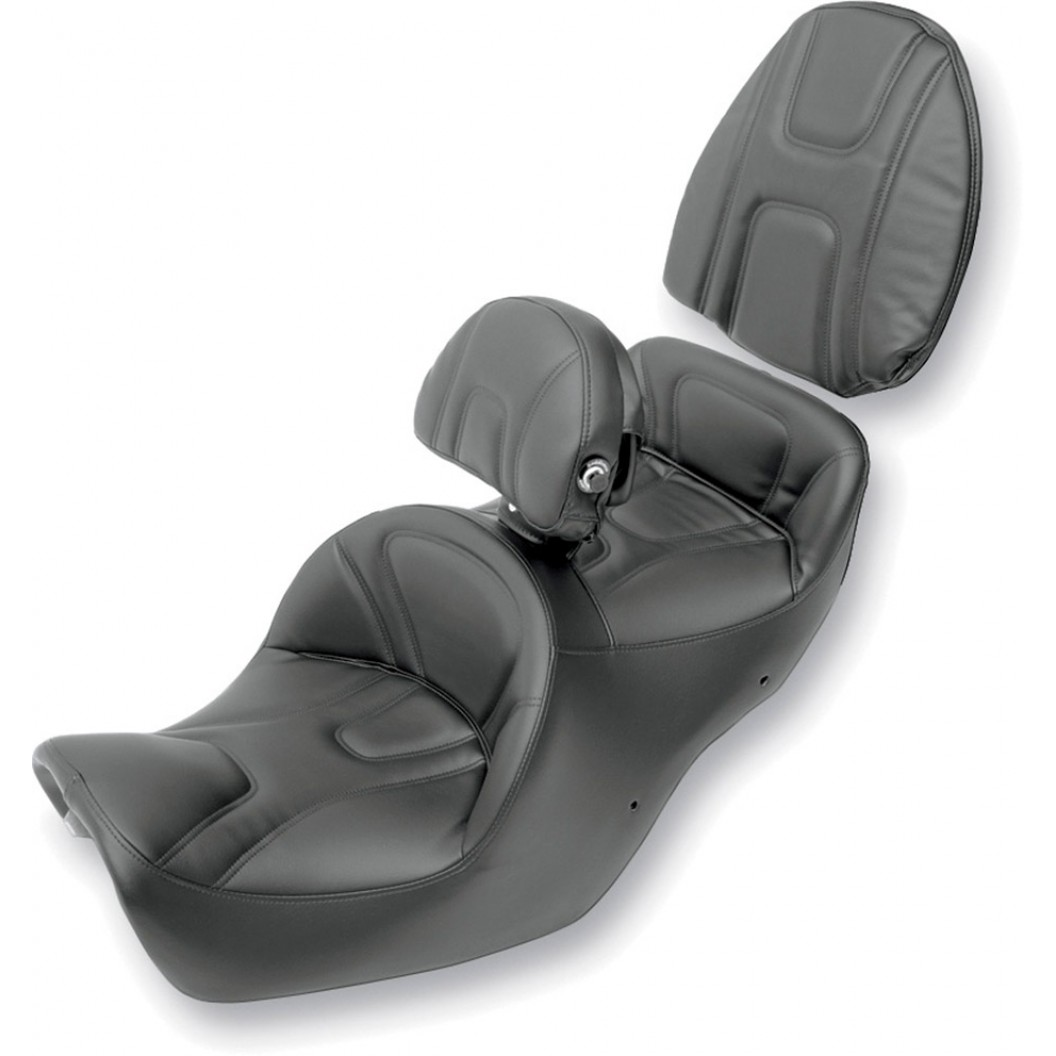 1987-2000 GL1500 Goldwing Roadsofa™ with Driver's Backrest/ Passenger Pad Cover/ Low