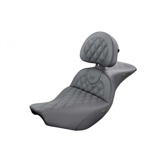 2014-2020 Indian Touring Heated Roadsofa™ LS Seat with Driver's Backrest