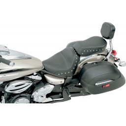 2009-2017 V-Star 950/950T Renegade™ Solo Seat with Chrome Studs