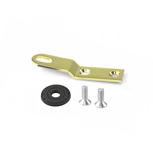 Gold Chrome Seat Bracket (10545GOB)