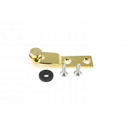 Gold Chrome Seat Bracket & Knob Kit (14831)