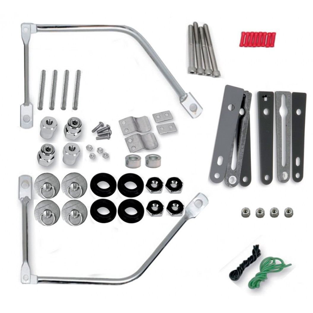 S4 Complete Quick Disconnect Kit (3501-0344)(Softail)