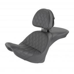 2006-2017 FLSTC Heritage Explorer™ LS Seat with Driver's Backrest