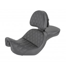 2006-2017 FXD, FXDWG, FLD Dyna Explorer™ LS Seat with Driver's Backrest