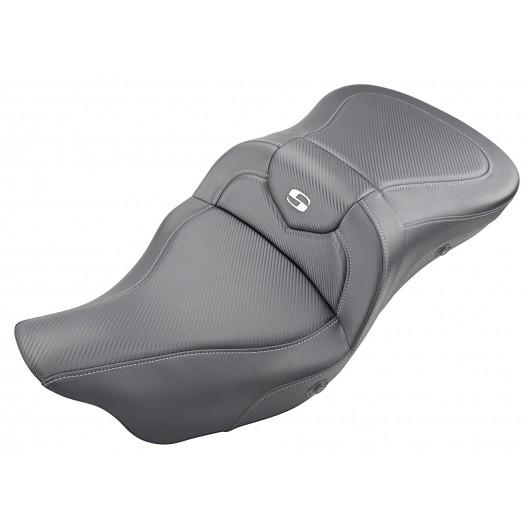 2008-2020 FLHR, FLHT, FLHX & FLTR Heated Extended Reach Roadsofa™ CF Seat