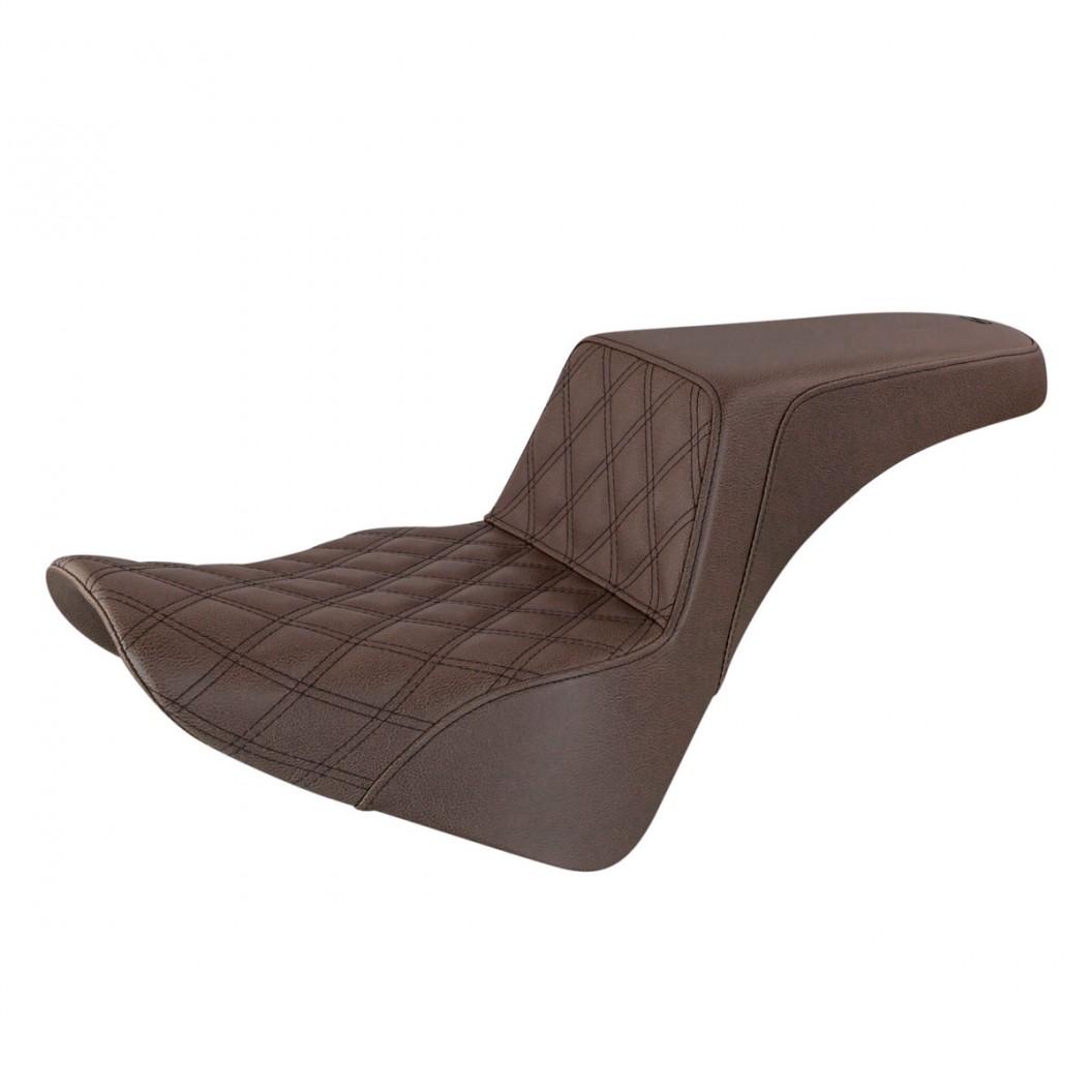 2018-2020 FLDE, FLHC/S & FLSL  Brown Step-Up™ Front LS Seat